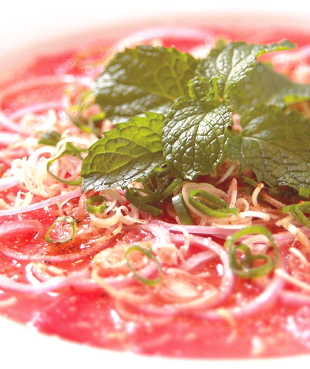 食譜:檸檬生鮪魚沙拉