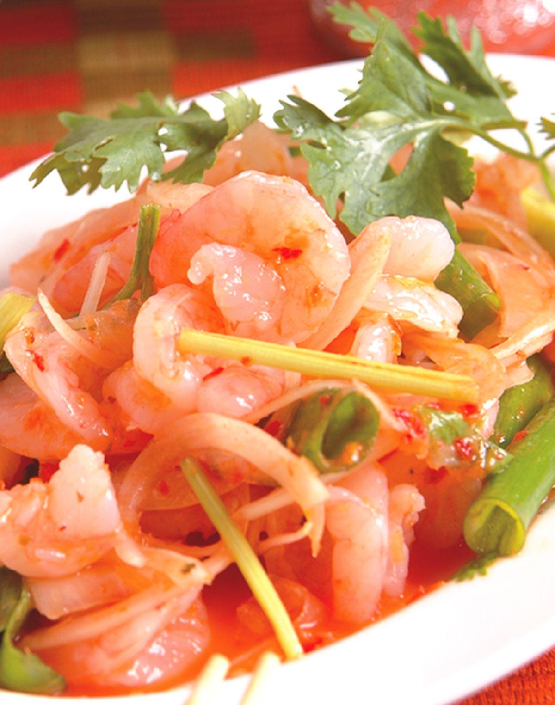 食譜:五味蝦