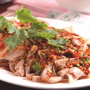 泰式蔥油雞
