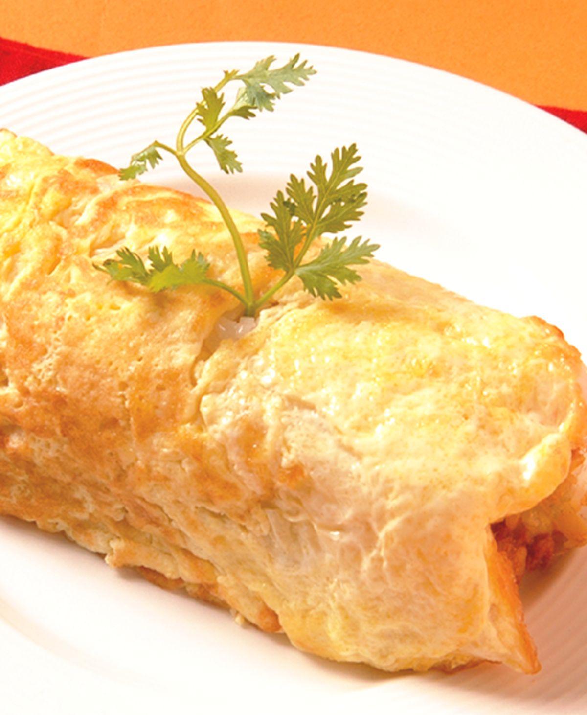 食譜:蛋包飯糰