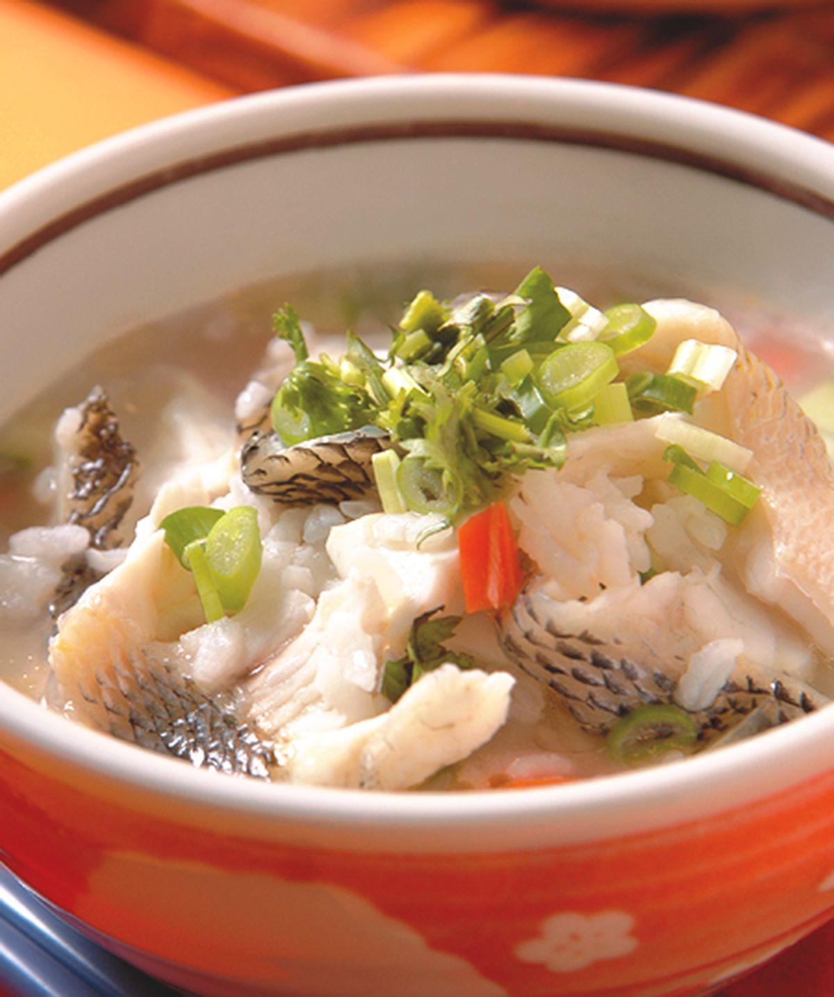 食譜:魚生粥(1)