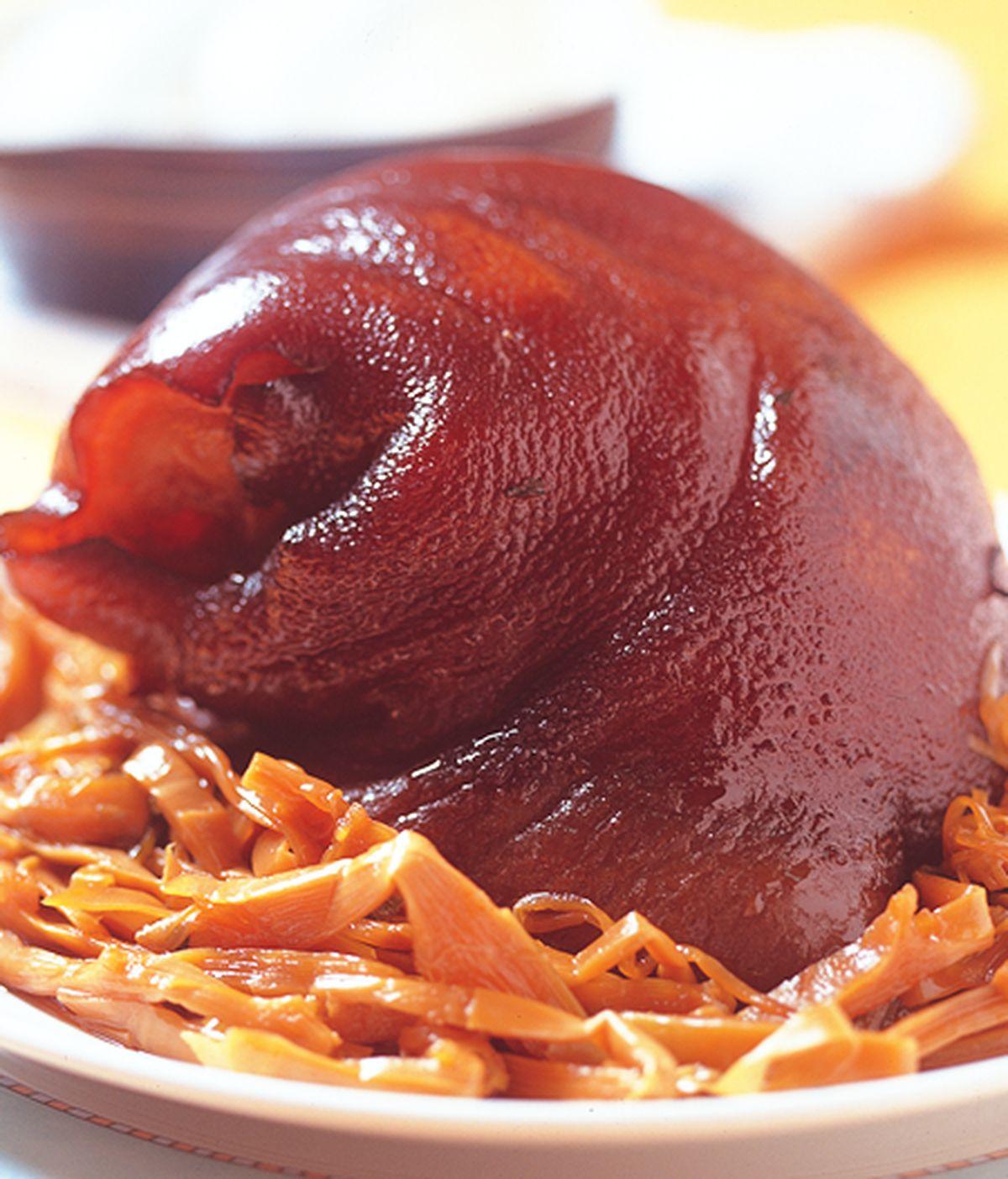 食譜:茶梅燉豬腳
