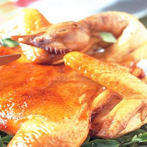 春茶烤嫩雞