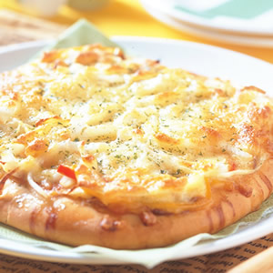 綠茶海鮮總匯披薩