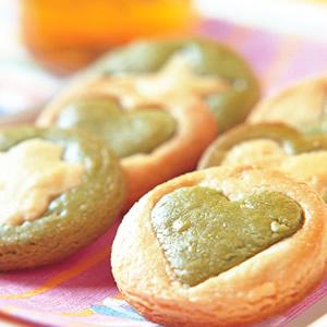 雙色綠茶餅乾