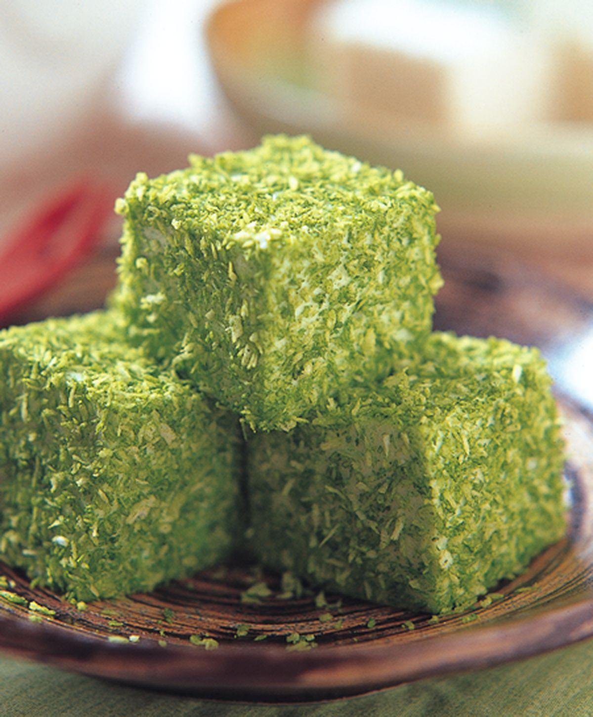 食譜:綠茶奶凍