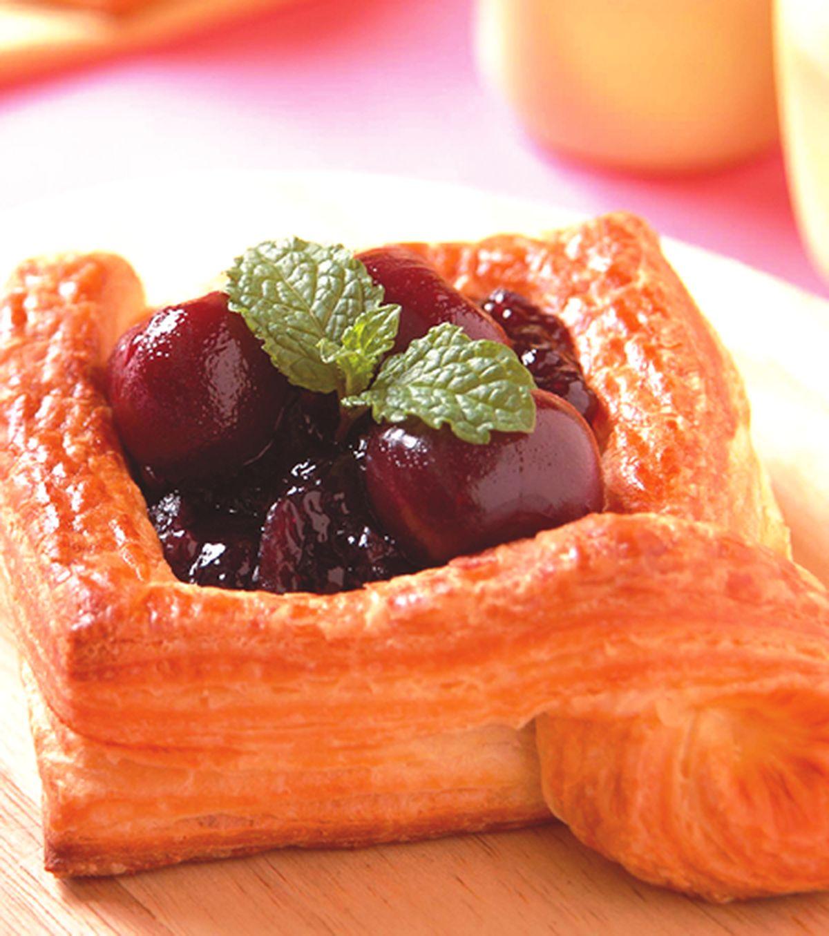 食譜:櫻桃丹麥麵包