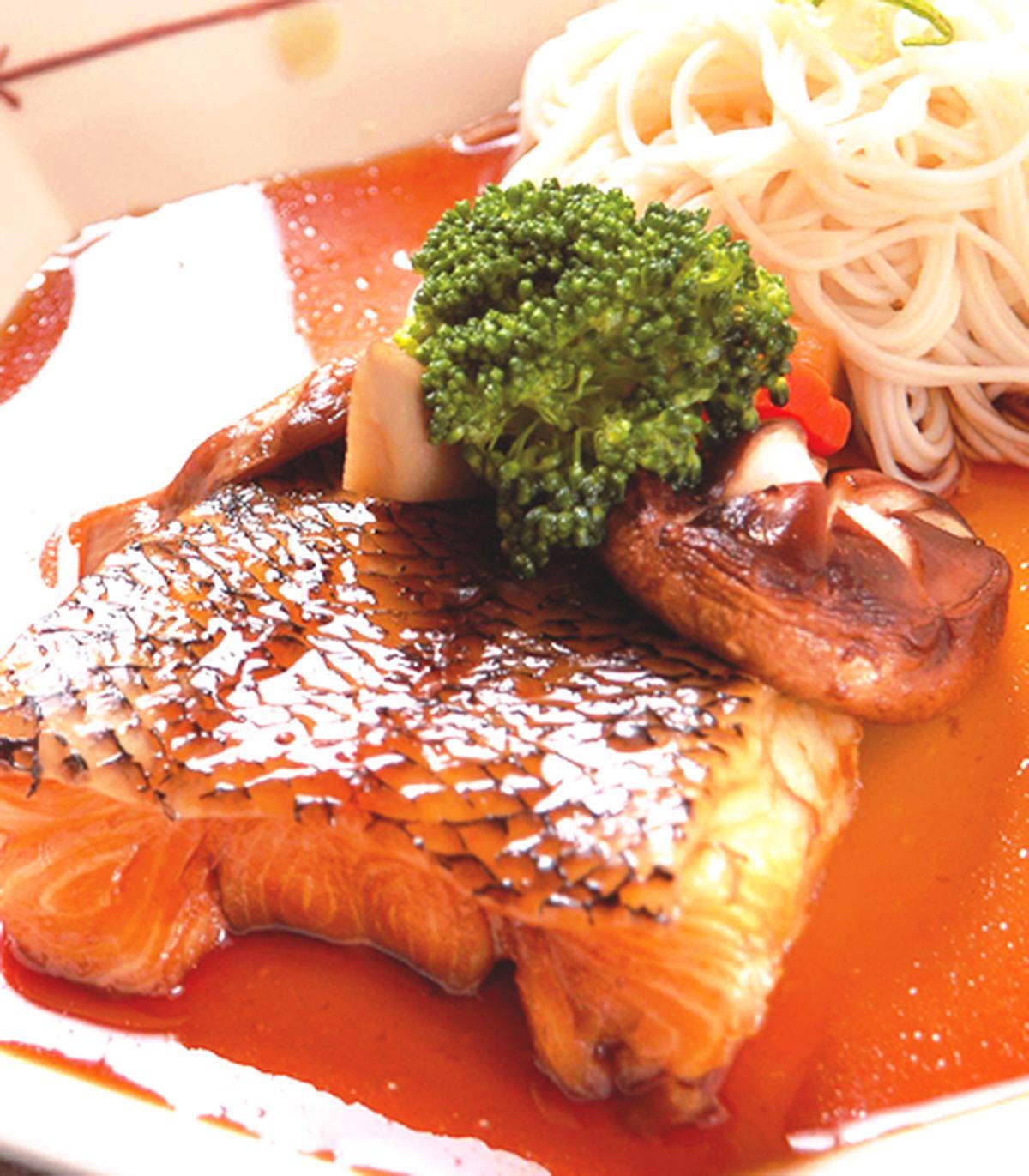 食譜:鯛素麵
