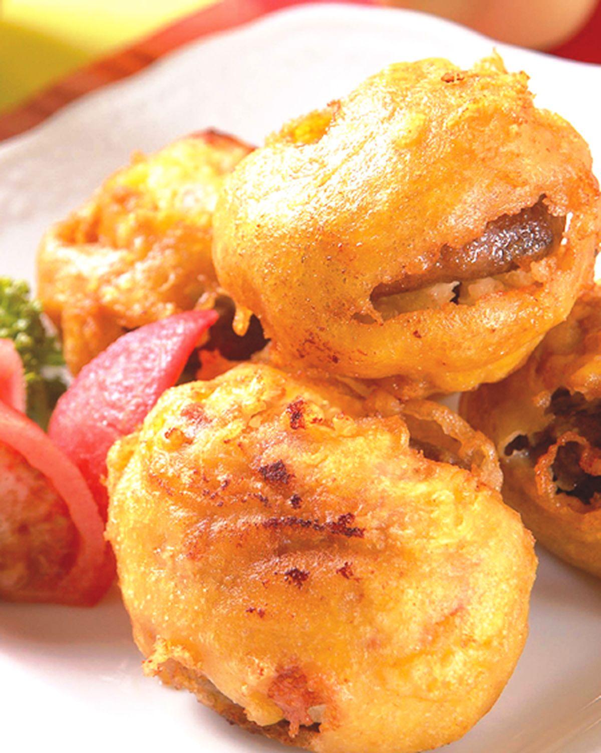 食譜:優格烤鮮菇