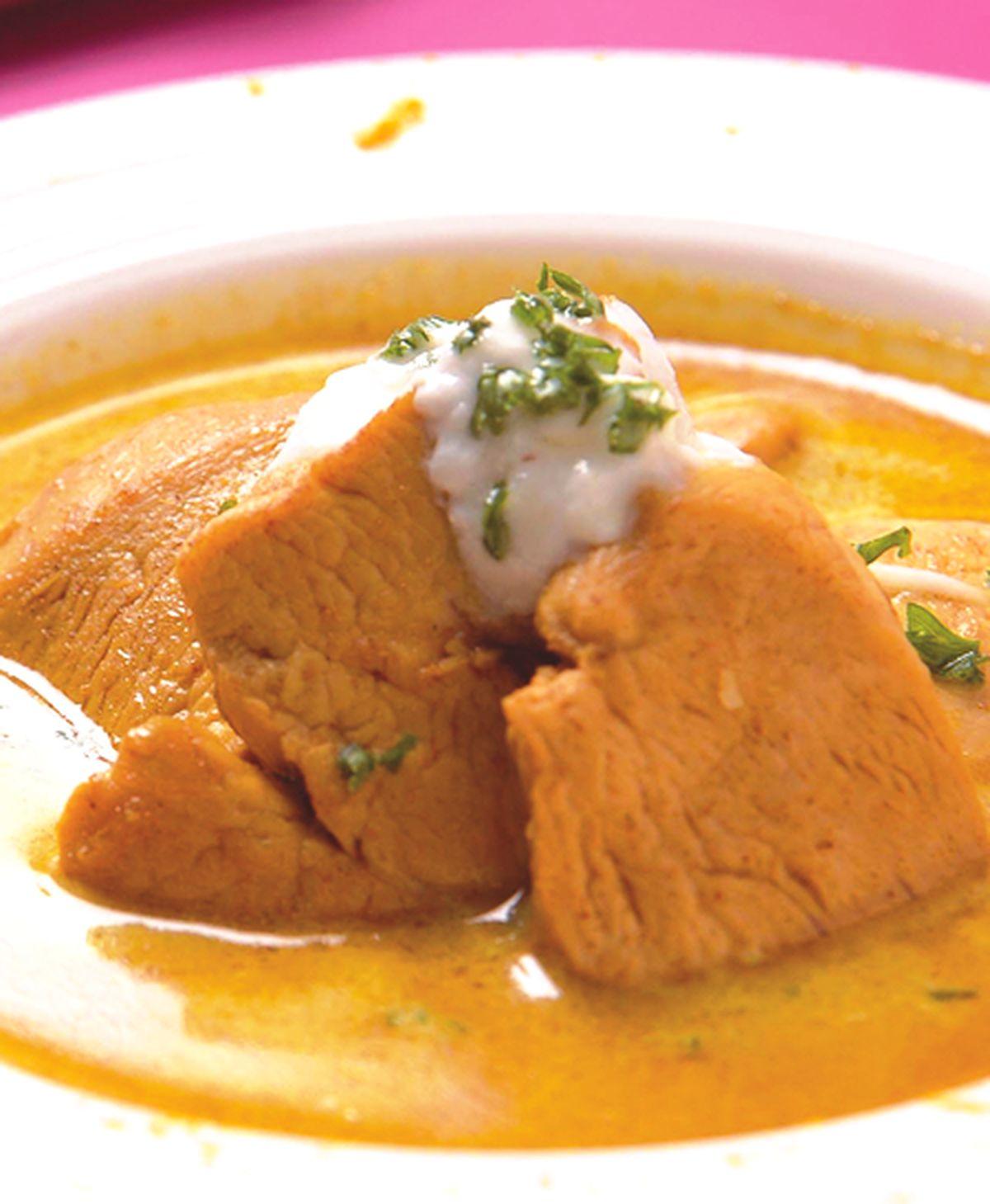 食譜:香椰優格咖哩湯