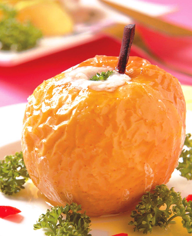 食譜:肉桂優格烤蘋果