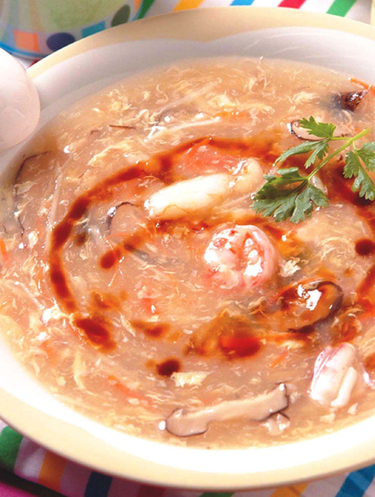 食譜:海鮮羹(1)