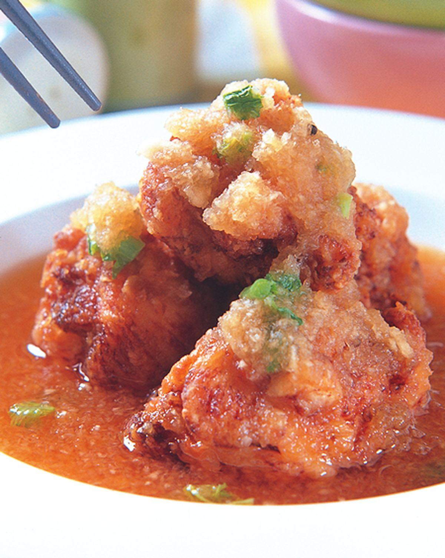 食譜:香酥雞塊雪泥煮