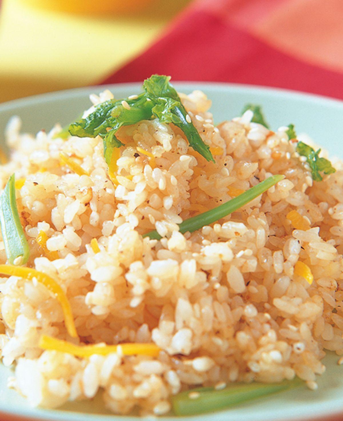 食譜:蘿蔔梗葉炒飯