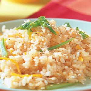 蘿蔔梗葉炒飯