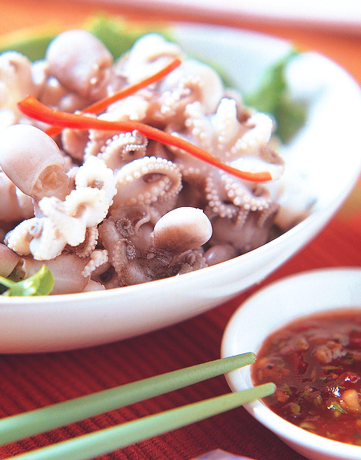 食譜:五味小章魚