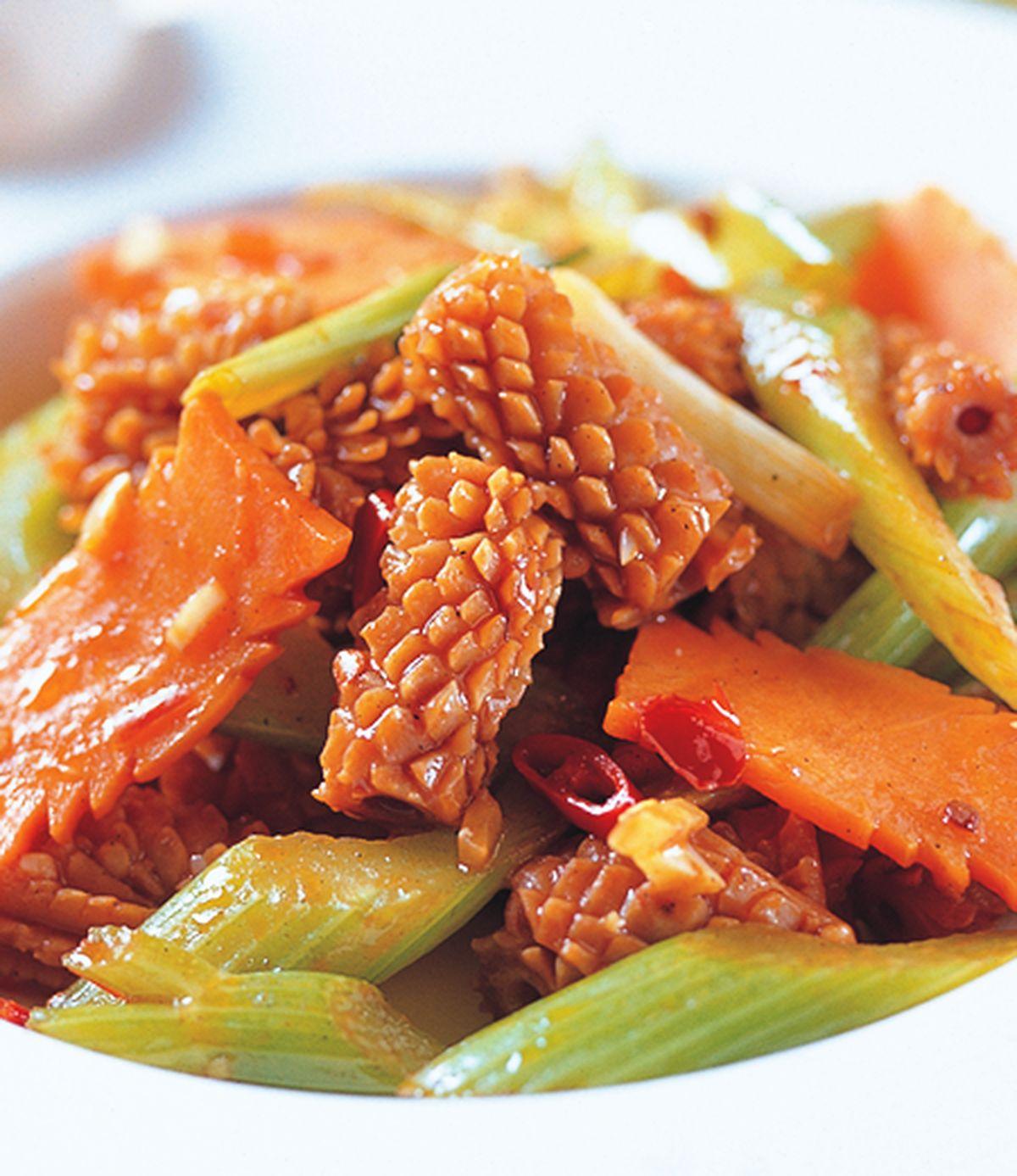 食譜:辣炒魷魚