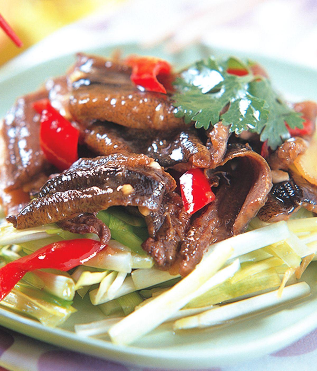 食譜:韭黃炒鱔片