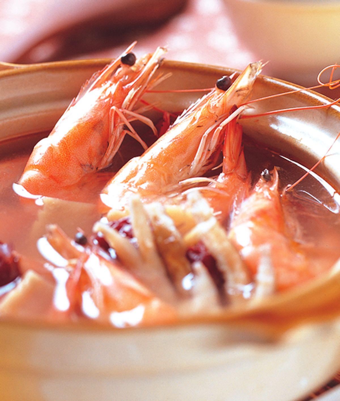 食譜:燒酒蝦圖