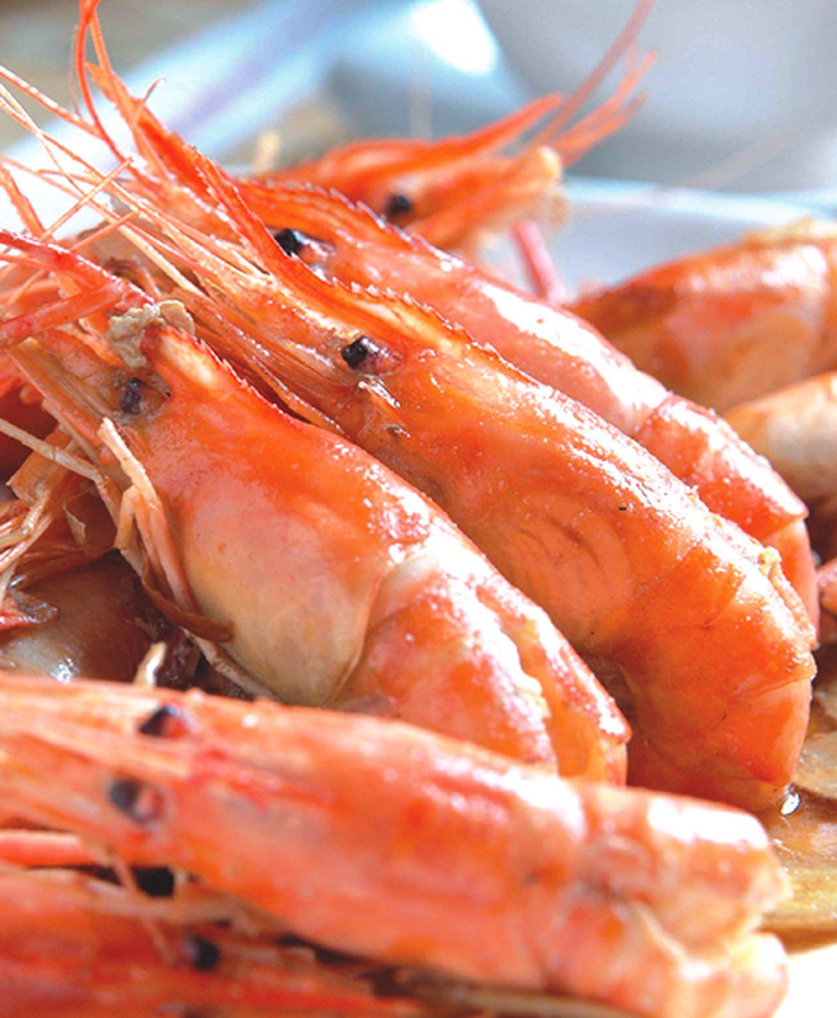食譜:酸辣蝦(1)