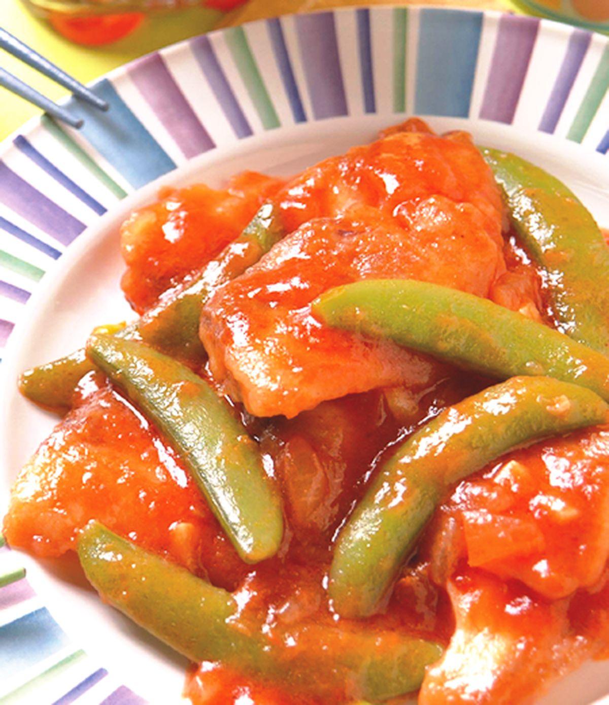 食譜:茄汁魚片(1)