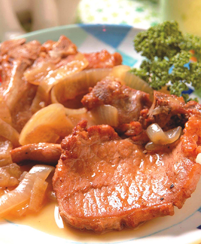 食譜:黑胡椒洋蔥牛排