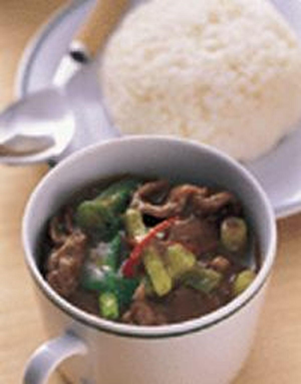 食譜:蠔油牛肉燴飯