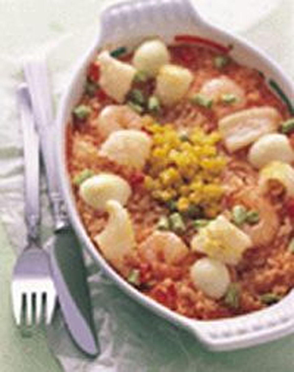 食譜:焗海鮮飯