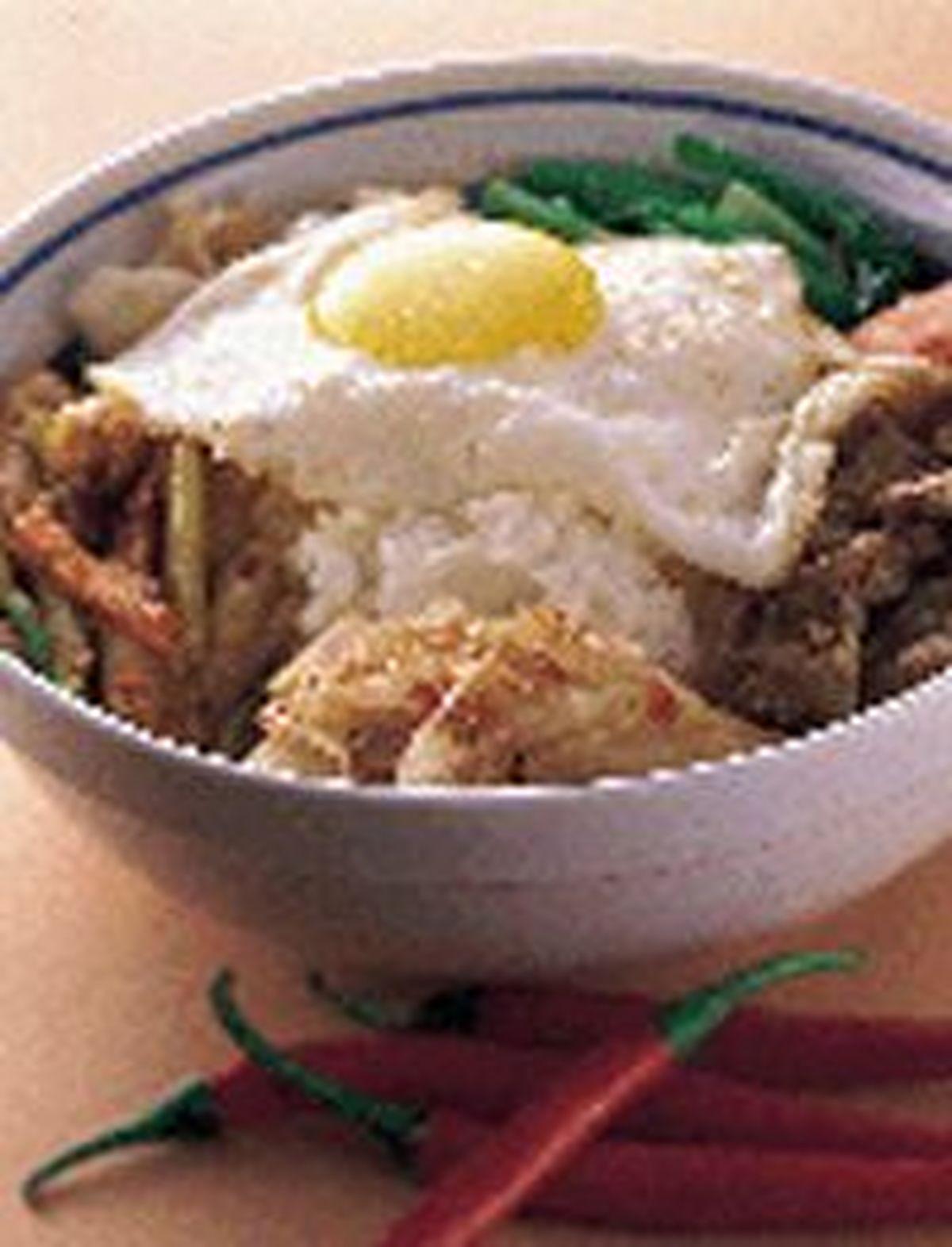 食譜:韓式泡菜拌飯