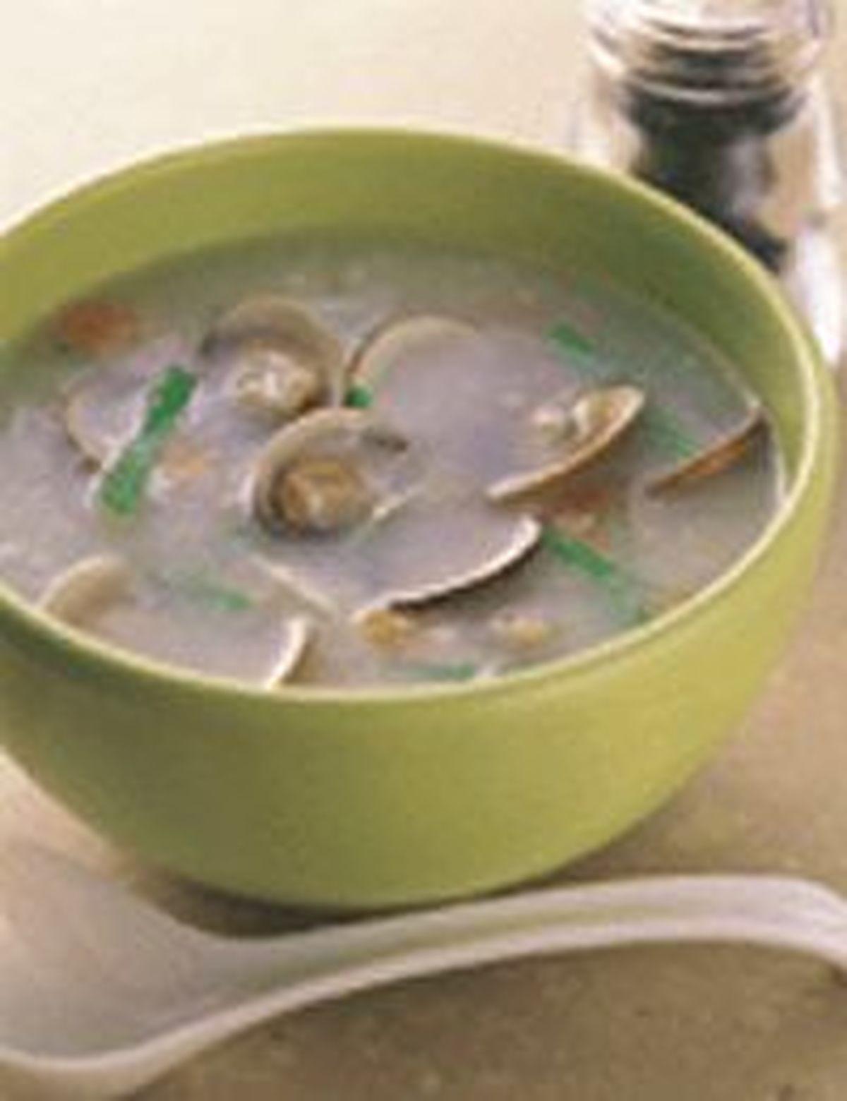 食譜:蛤蜊粥(1)