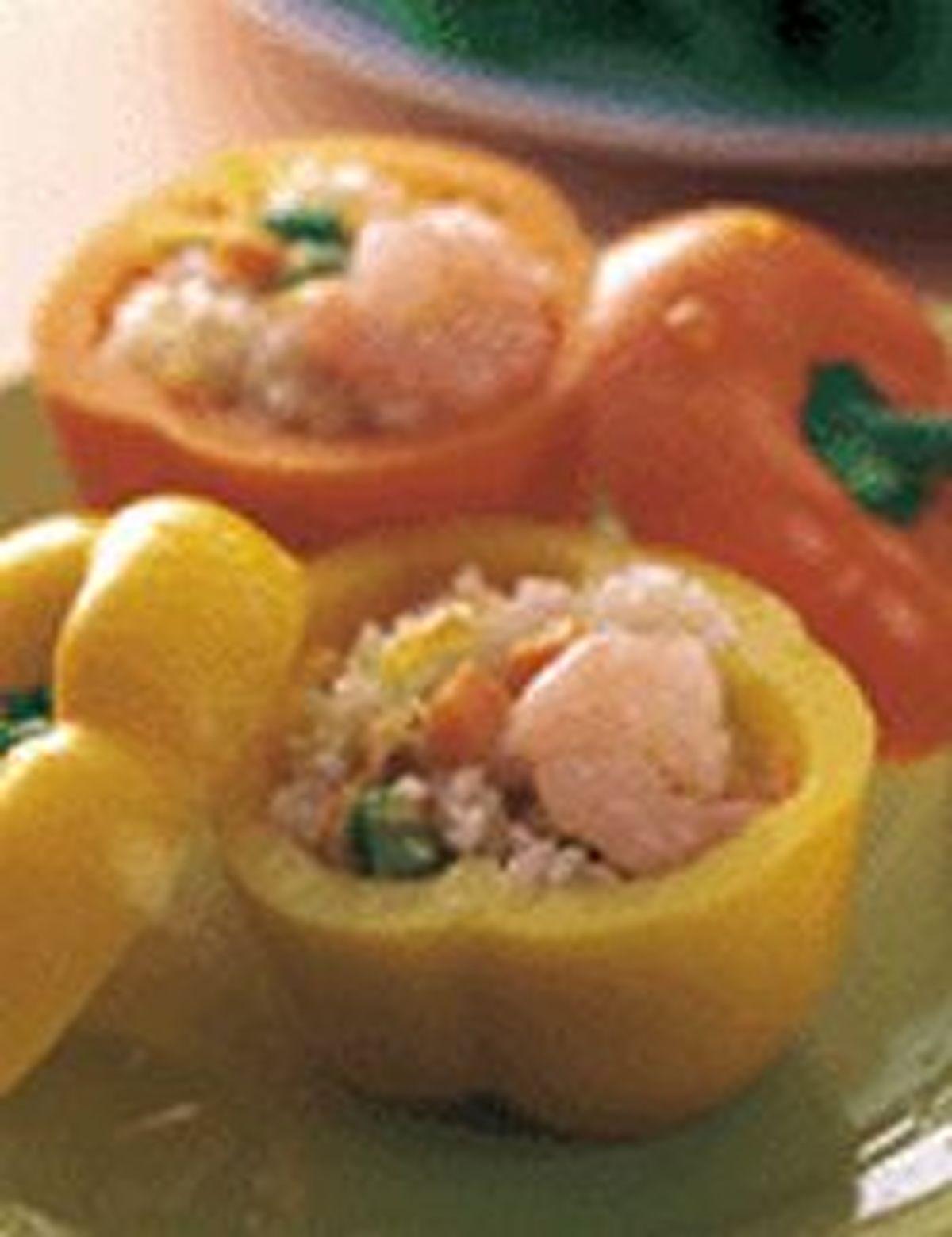 食譜:甜椒盅