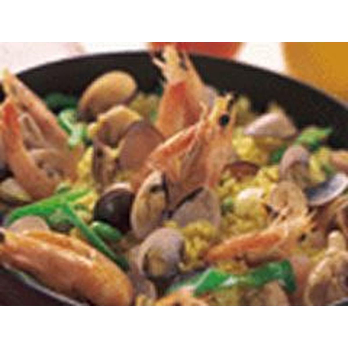 食譜:西班牙海鮮飯