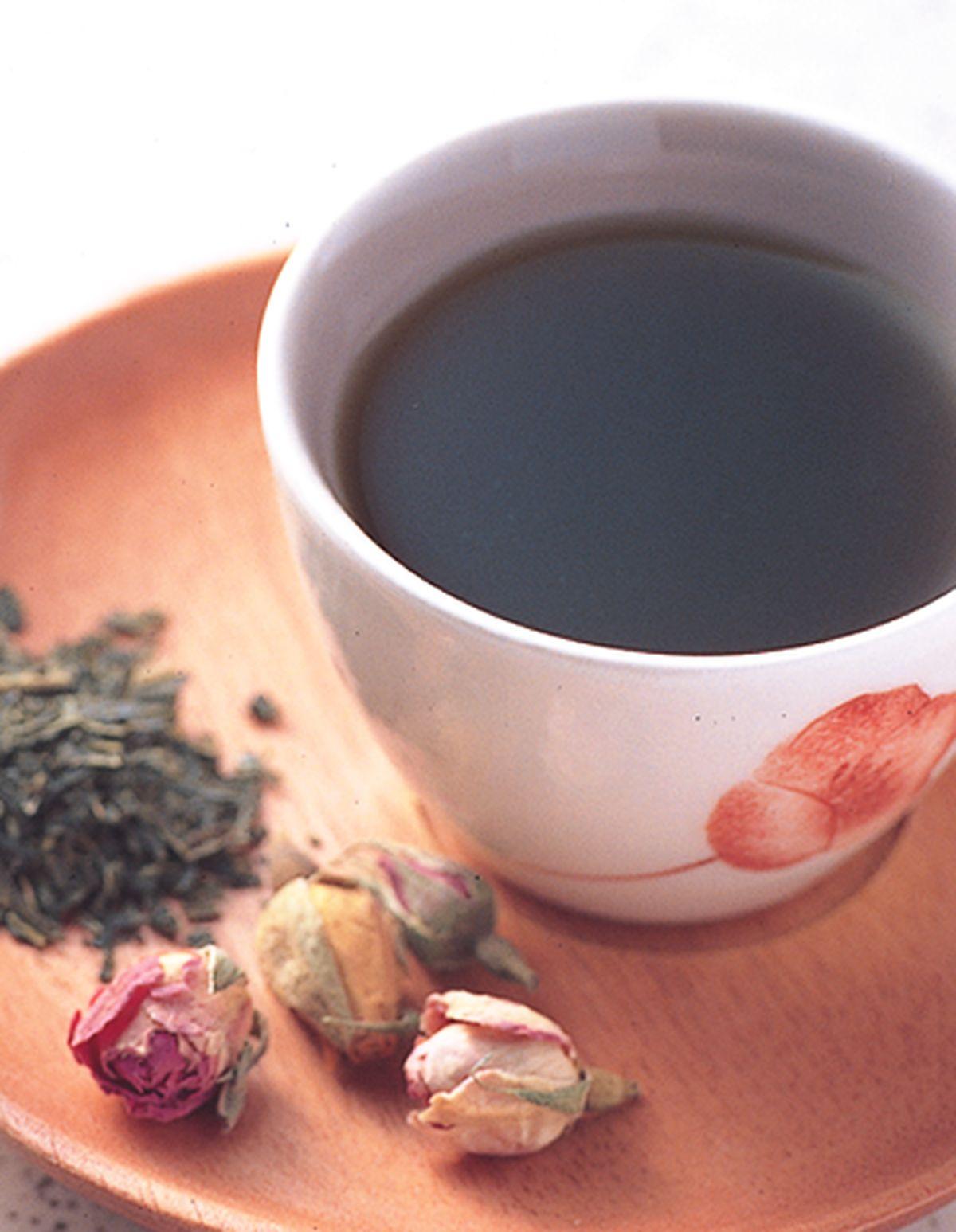 食譜:茉莉玫瑰綠茶