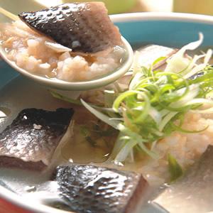 魚生發芽米粥