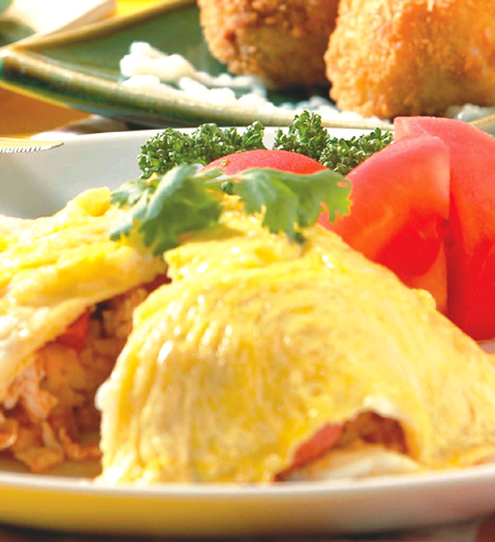 食譜:蛋包飯(4)