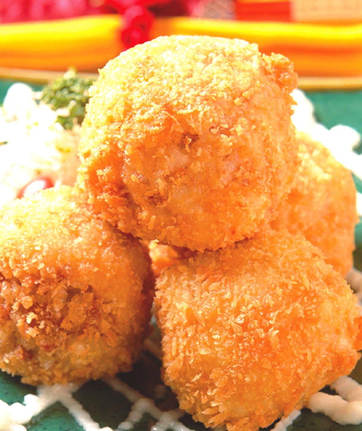 食譜:鮮炸米飯團