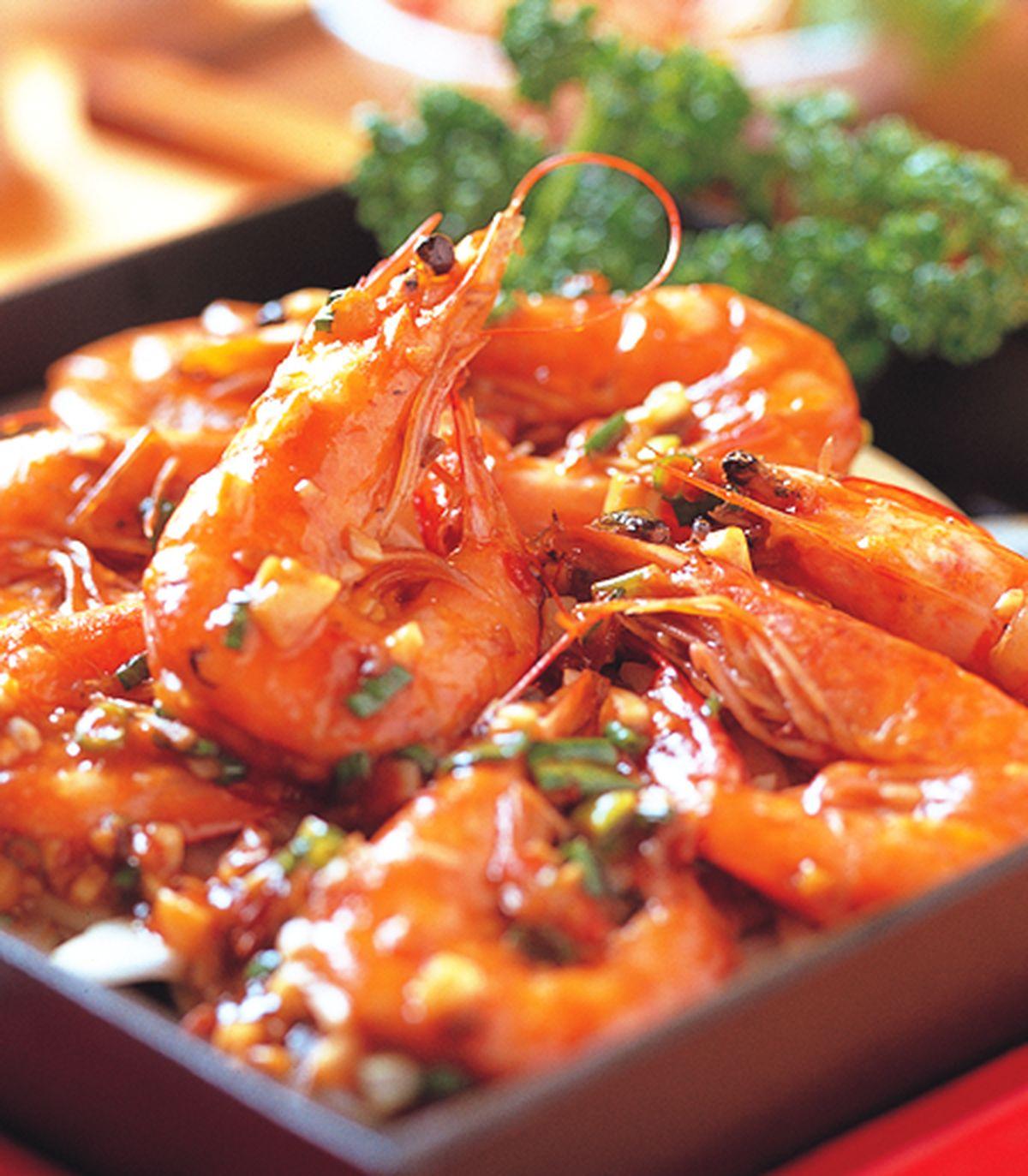 食譜:鐵板大蝦