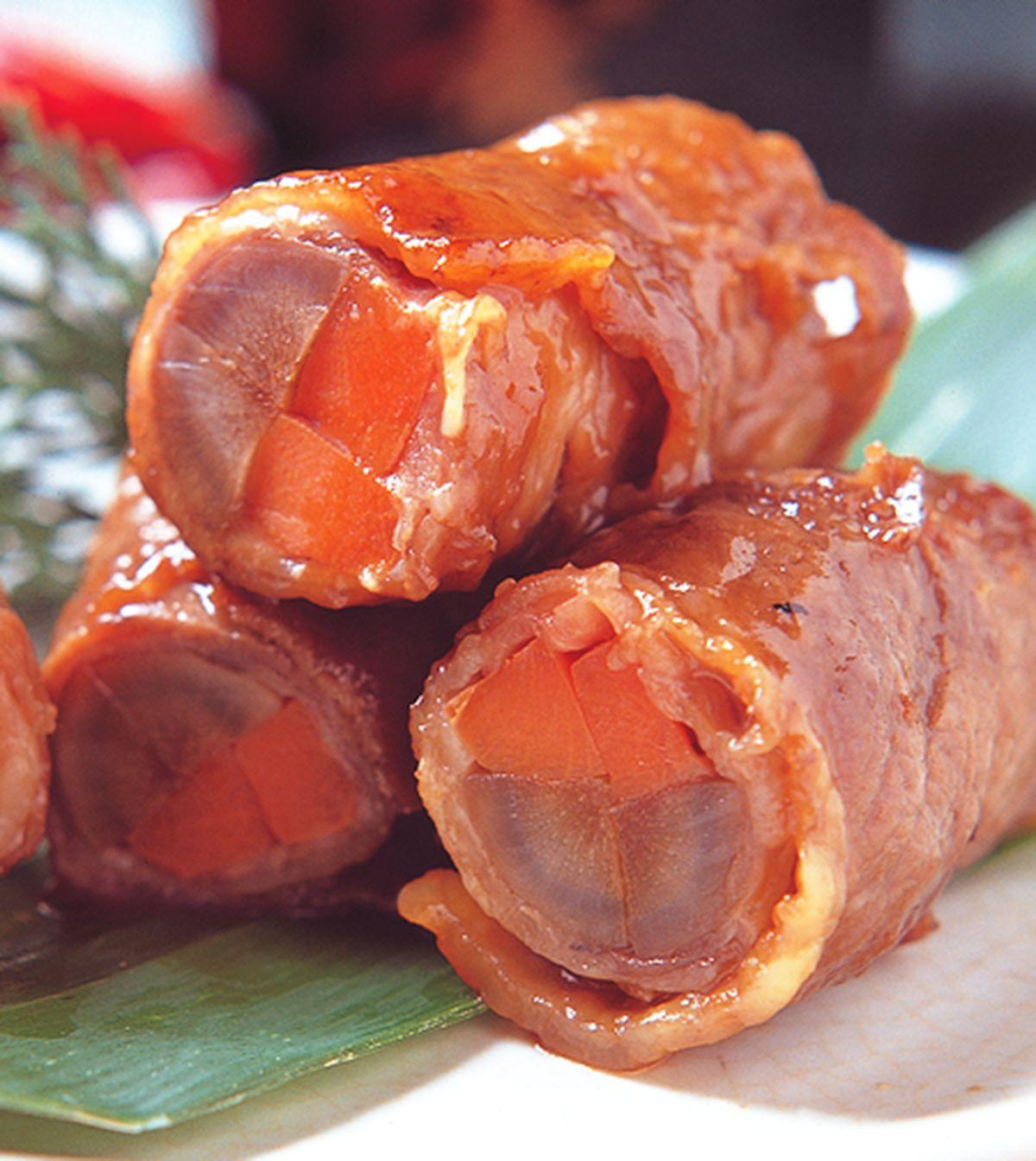 食譜:牛肉八幡捲