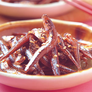 丁香魚佃煮