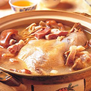 砂鍋白菜雞