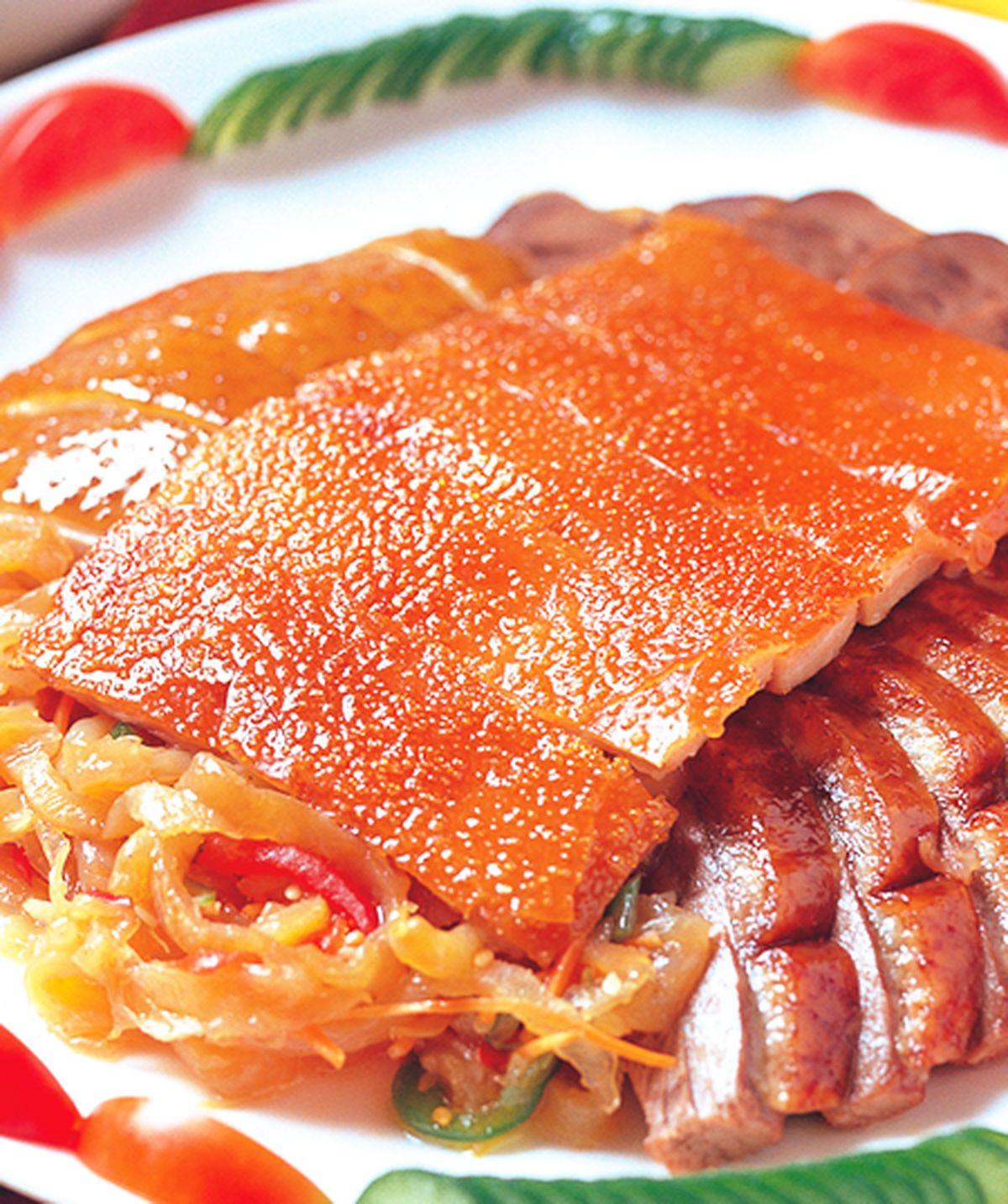 食譜:滷豬大拼盤