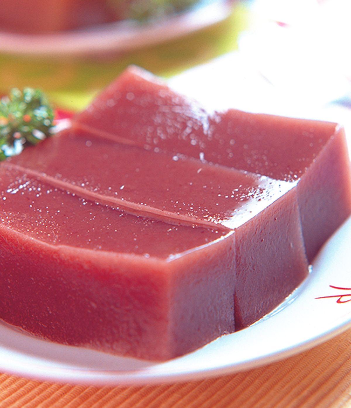 食譜:紅豆甜涼糕