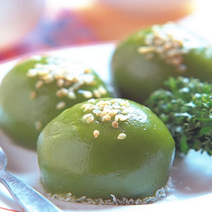 綠茶糯米滋