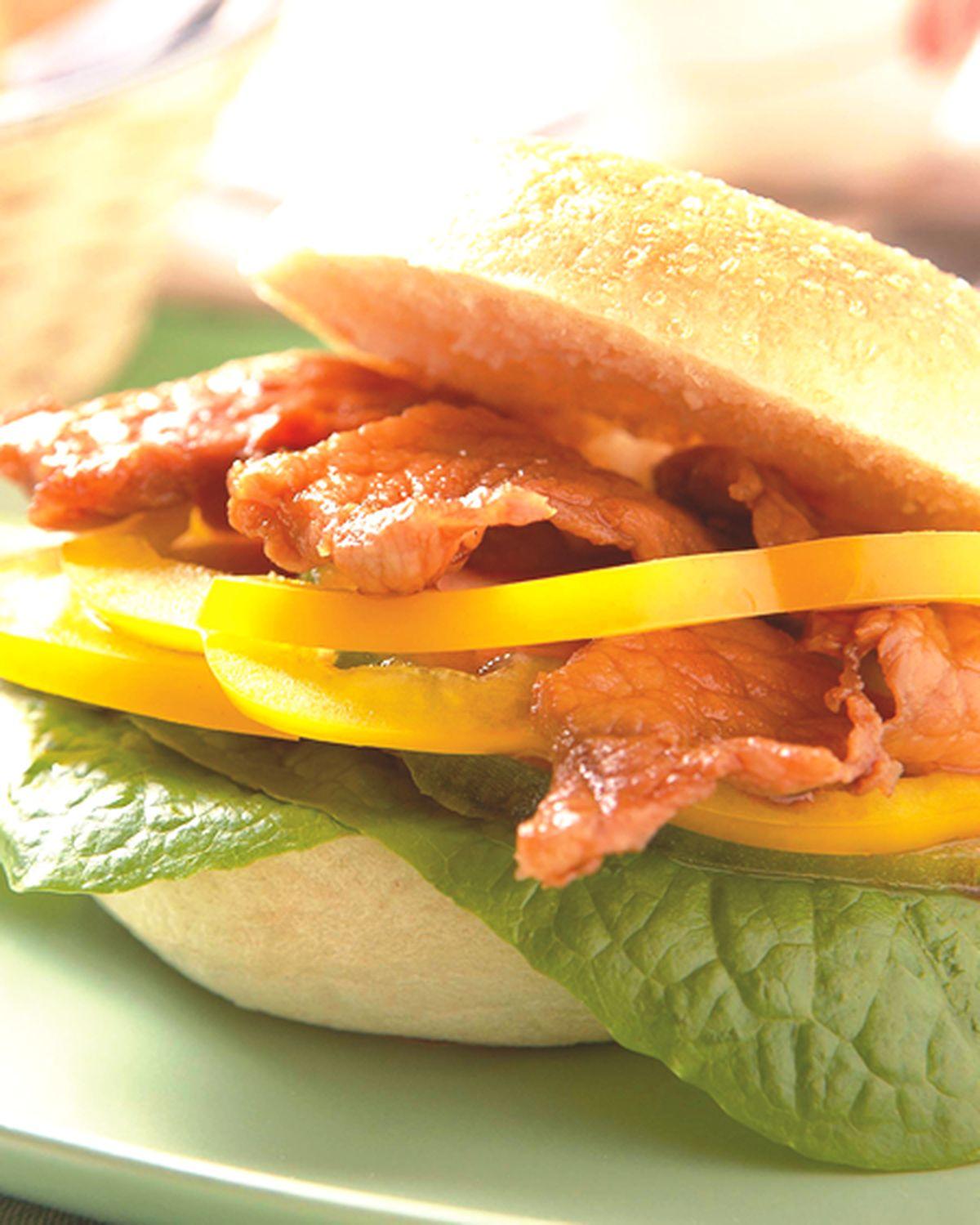 食譜:燒肉貝果三明治