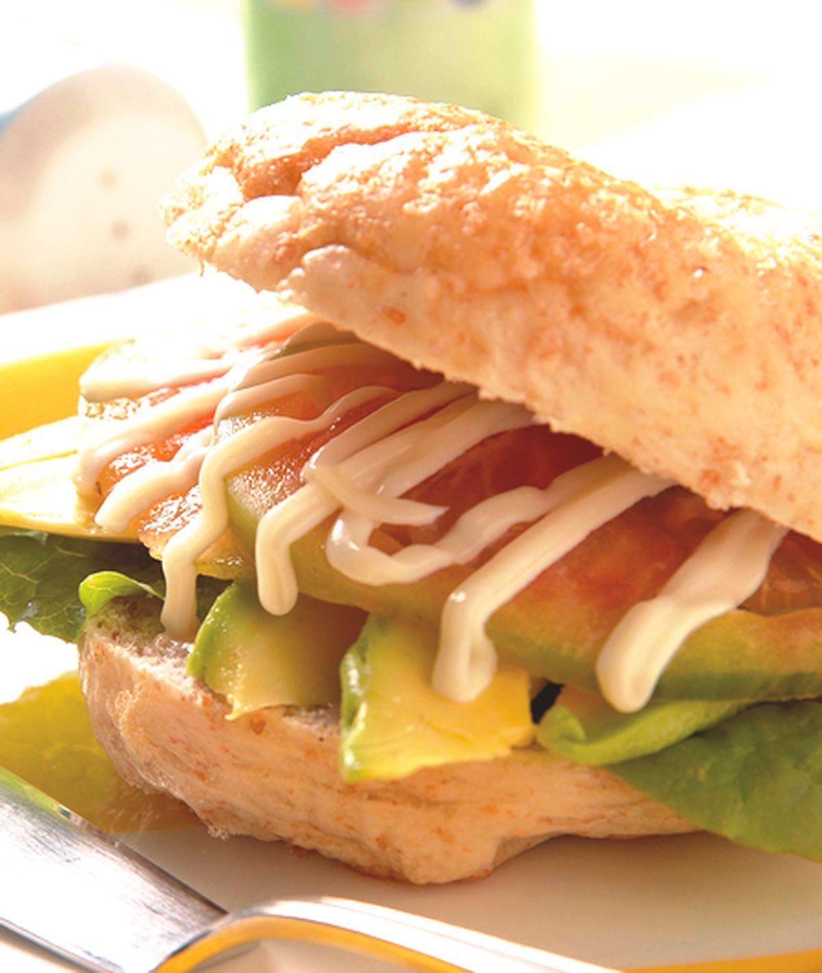 食譜:水果貝果三明治