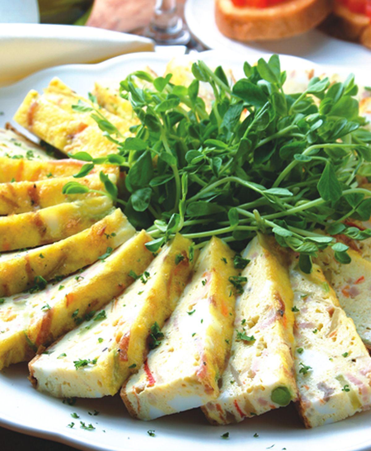 食譜:烘義式蔬菜蛋餅