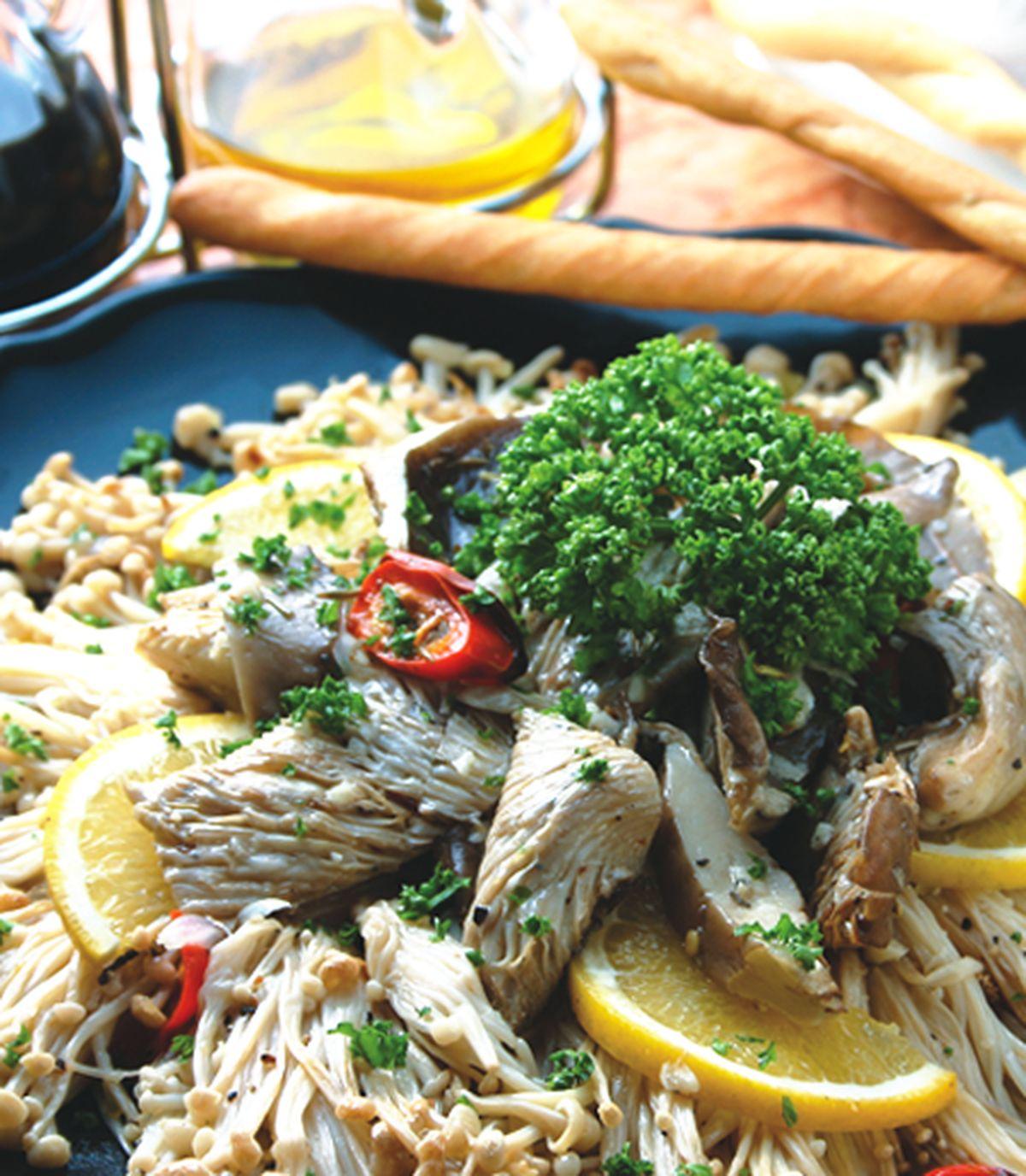 食譜:爐烤香料錦菇