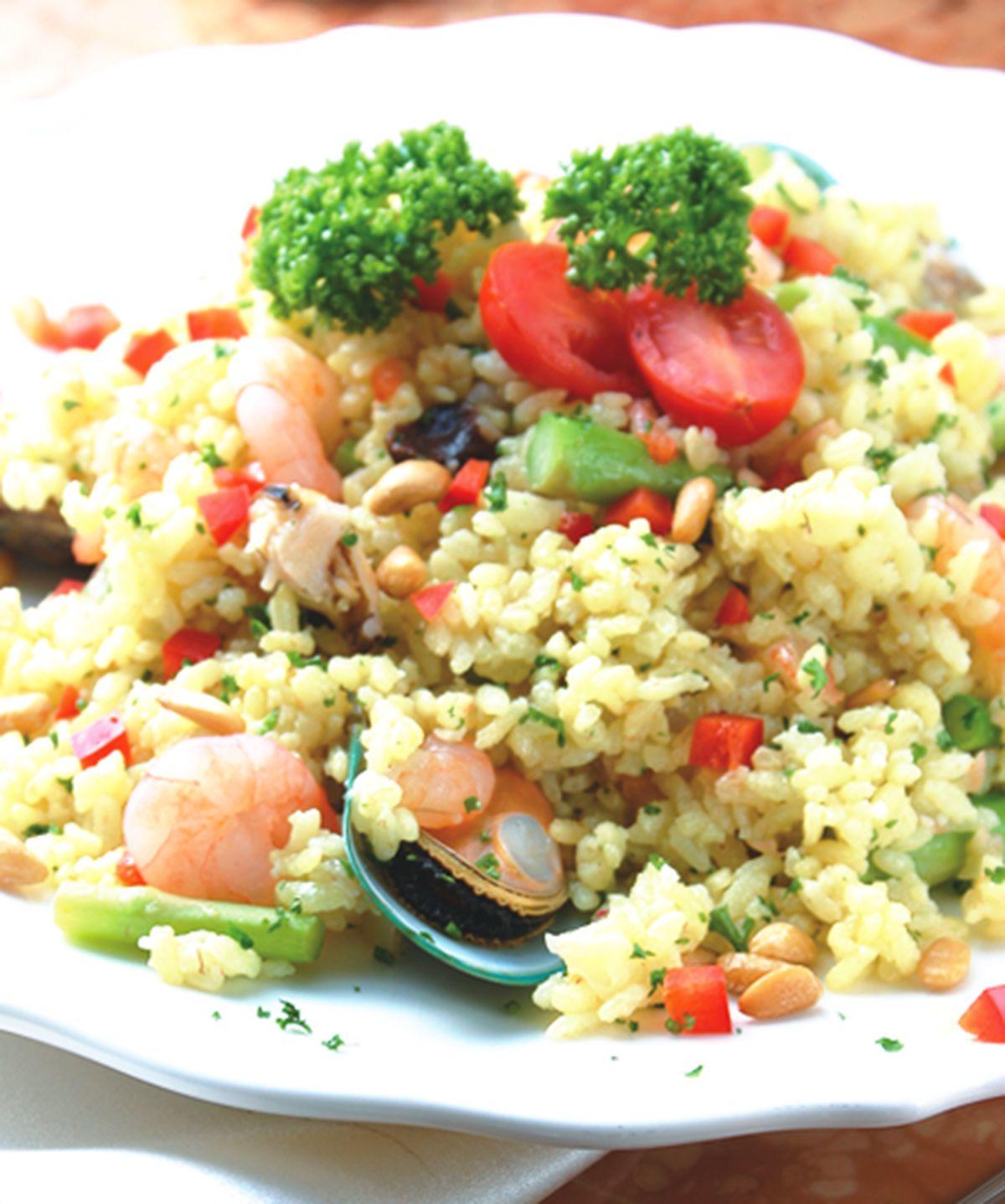 食譜:西西里海鮮飯