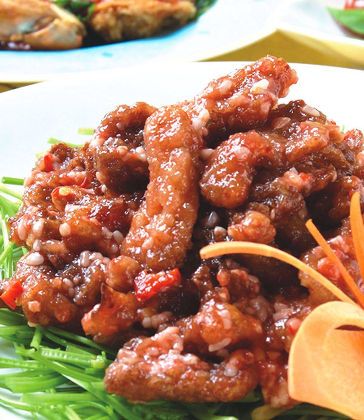 食譜:香根紅糟鮮菇