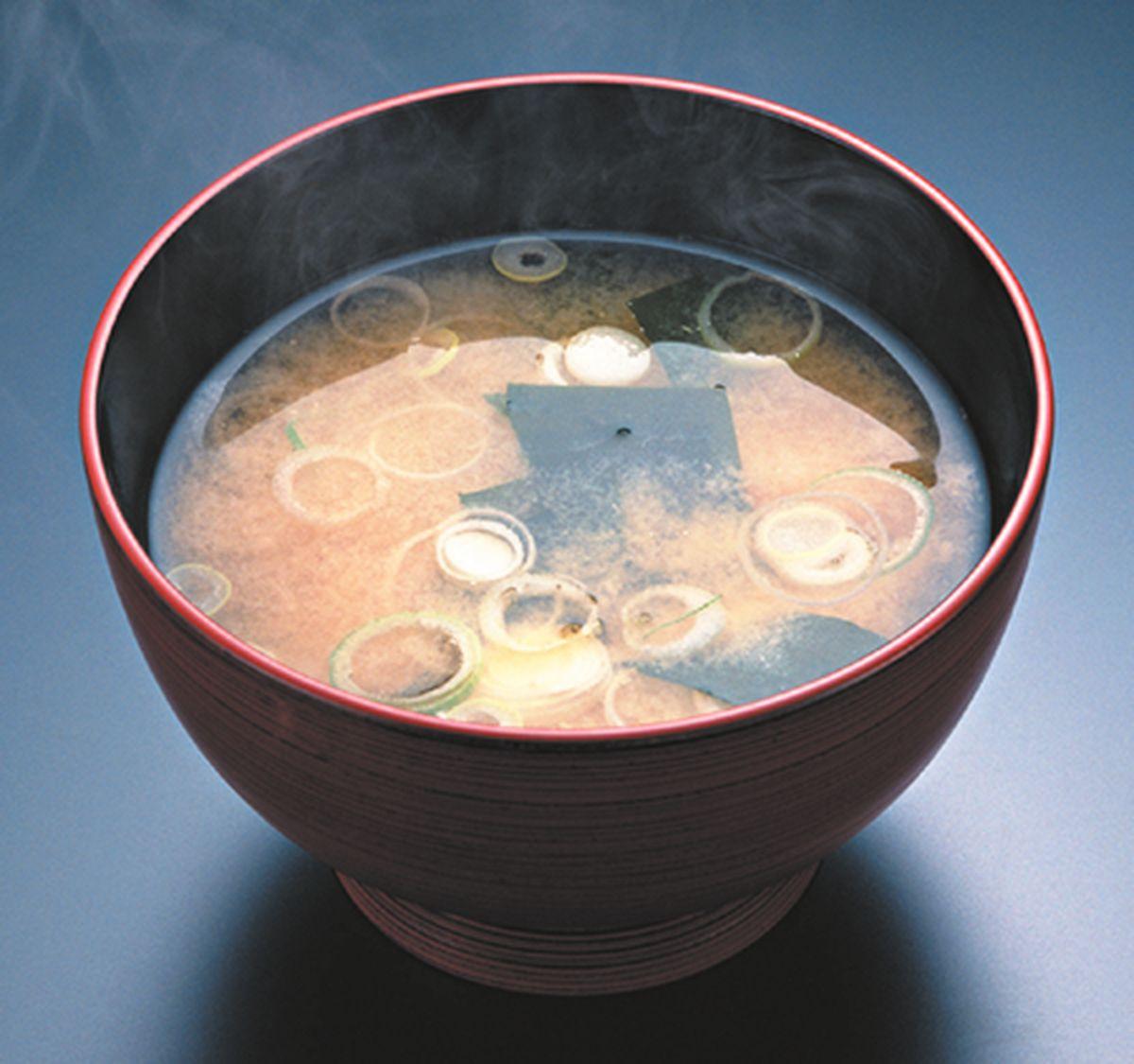 食譜:日式味噌湯